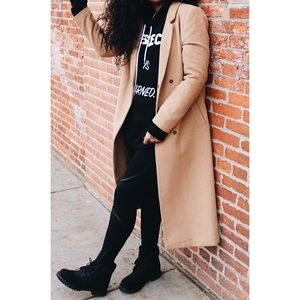 Forever 21 Duster Winter Wool Trench Coat